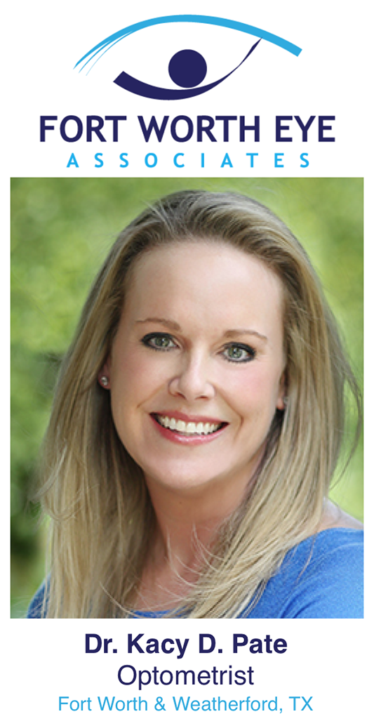 Dr. Kacy D. Pate - licensed therapeutic optometrist and glaucoma specialist